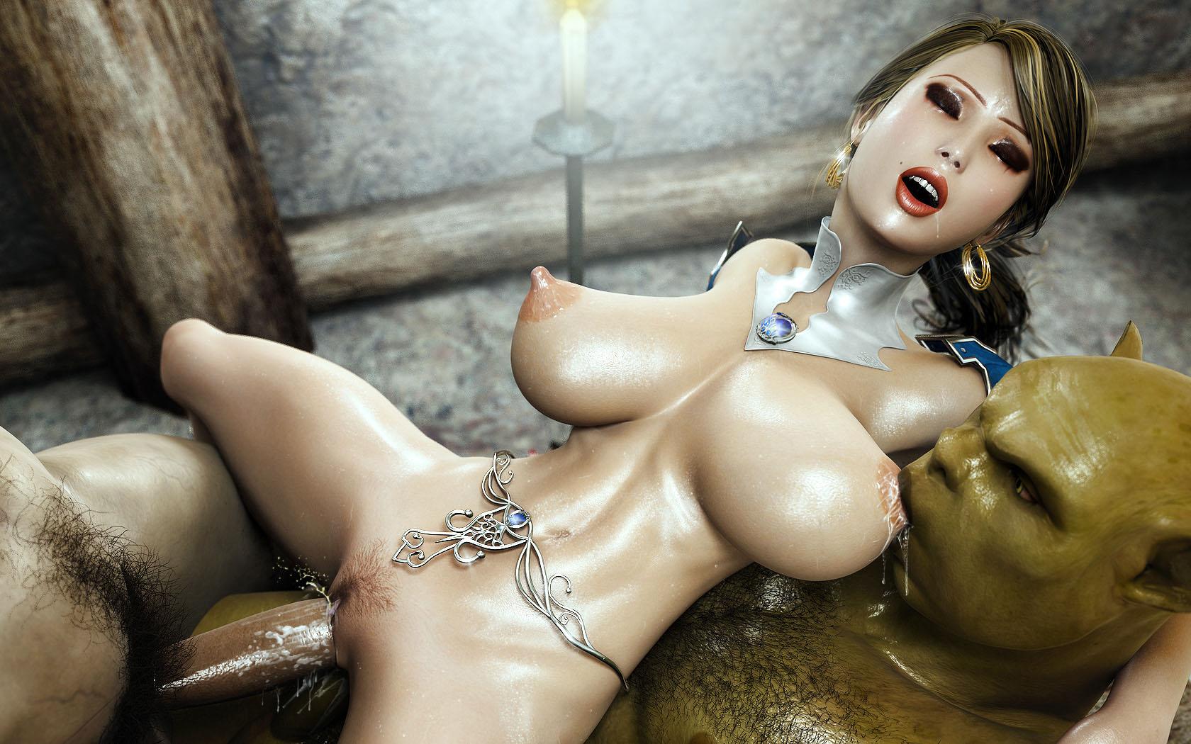 Fantasy x free porn comic