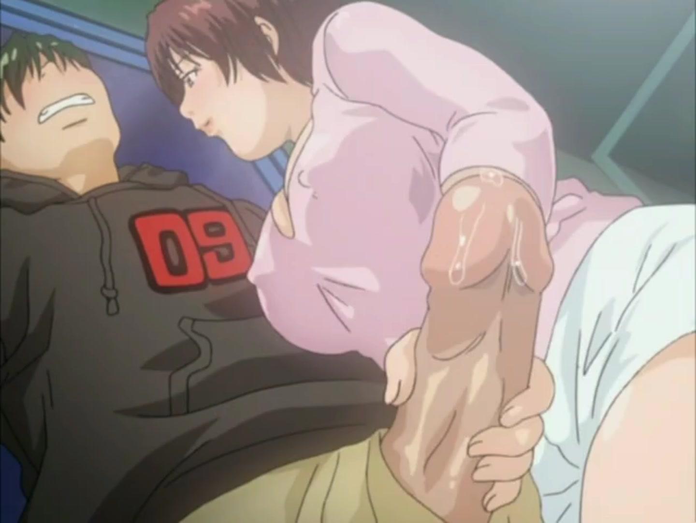 В аниме мастурбировать мальчик смотреть