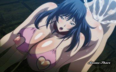 Kyonyuu Hitozuma Onna Kyoushi Saimin / Загипнотизированные замужние учительницы с большими сиськами (2 серии)