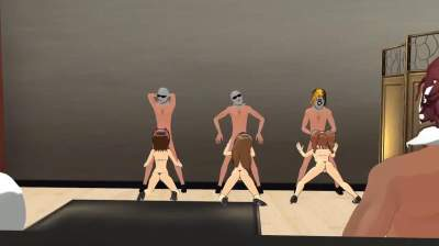 [MMD] Wis Zinc The idolmaster Orgy