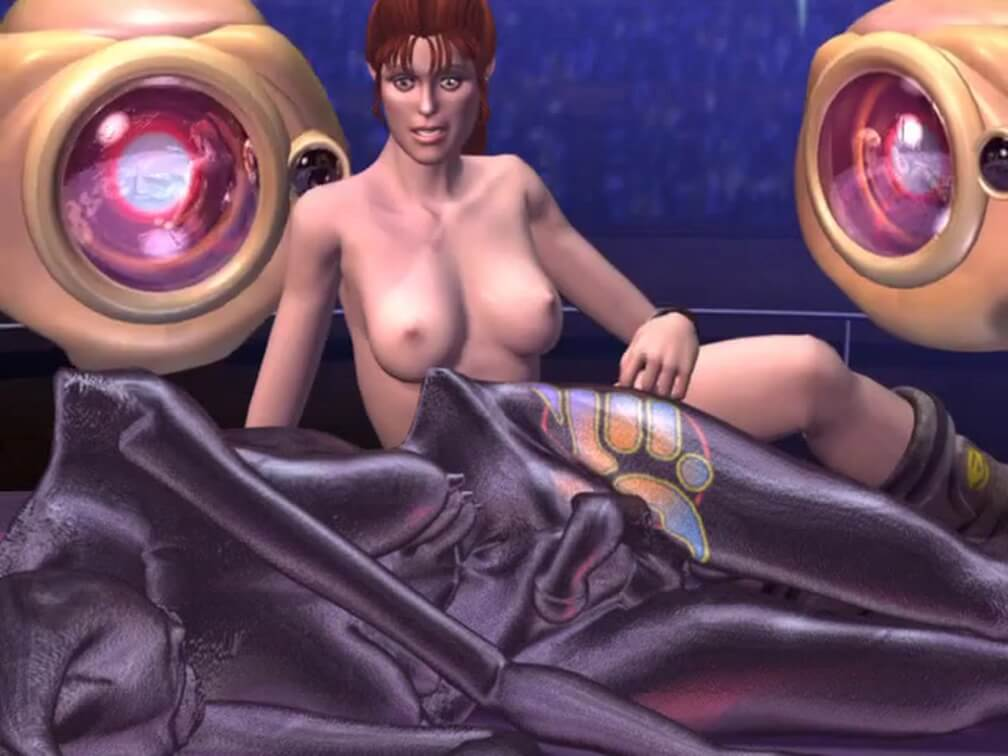 Зума сексуальный гладиатор 3д